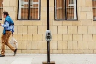 Gecko Bollard Charging Point