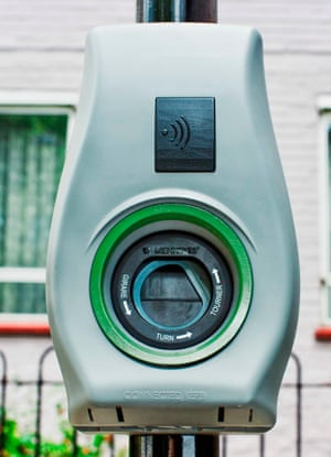 Gecko electric car charging point