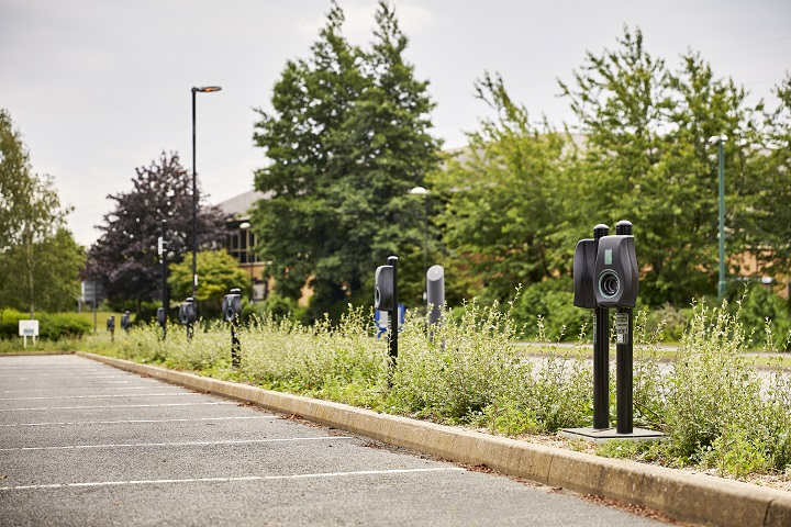 Sustainable EV charging installed at Cambridge Science Park